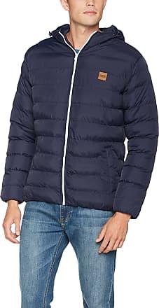 Urban Classics Mens Basic Bubble Jacket, NVY/Wht/NVY, XXXXXL