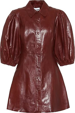 Ganni Leather minidress