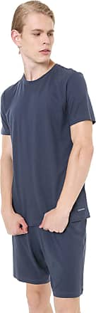 Calvin Klein Underwear Pijama Calvin Klein Underwear Liso Azul-marinho