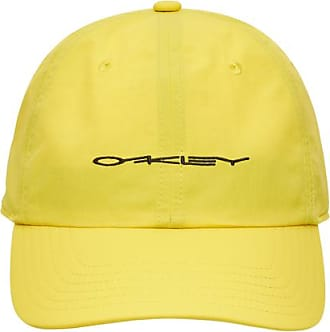Oakley Definition 6 panel stretch hat racing RADIANT YELLOW L/XL