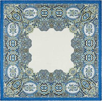 Roeckl Blossom Paisley 140x140 - multi blue - 140x140
