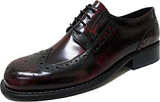 Ikon Original Mens Kromby Leather Mod Northern Soul Shoe Burgundy 10 UK/44 EU
