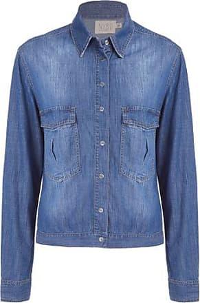 N.Y.B.D. Camisa Jacket Lisa Escura N.Y.B.D. - Azul