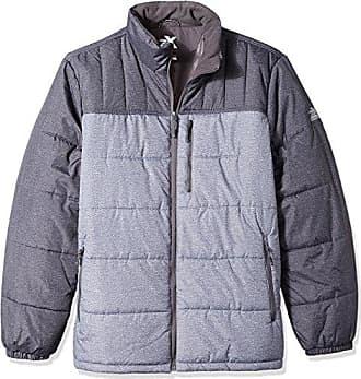 ZeroXposur Mens Big & Tall Flex Quilted Puffer Jacket, Iron Static X-Large Tall