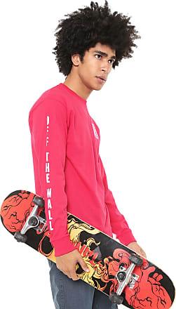 Vans Camiseta Vans Mn Warped Check Ls Pink