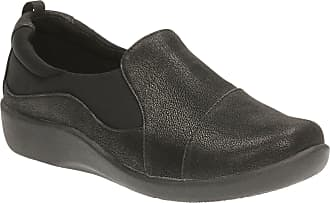 Clarks Sillian Paz Womens Wide Casual Shoe 6.5 E UK Black