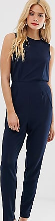 Y.A.S. Tall tailored jumpsuit-Navy