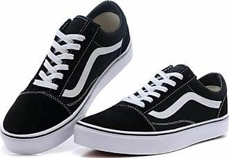 294c8de7fc Vans De VAN Old Skool - Schwarz Weiß - Skate Schuhe EU35 - 44