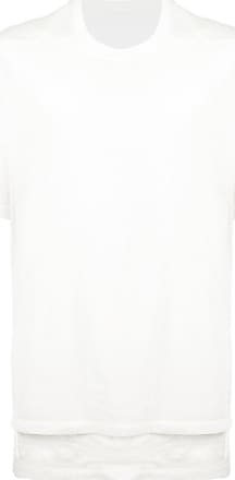 Julius oversized layered T-shirt - Di colore bianco