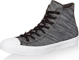 Converse Chuck II Hi Black White Knit - 7 UK