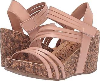 f2f47c02018 Blowfish Helm (Blush Dyecut) Womens Wedge Shoes