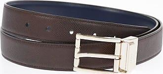 Bally 40 mm Leather Reverible Belt Größe 110