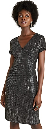 Yumi Silver Sequin Party Dress