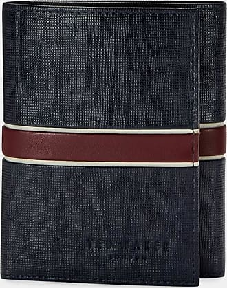Ted Baker Trifold Wallet in Navy STRIVE, Mens Accessories