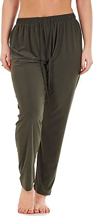 JD Williams Ladies Women Trouser Elasticated Narrow Leg High Waist ITY Regular Pants Black