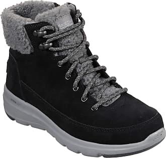 Skechers Womens Chocolate Go Walk Imprint Unlined Classic Boots Uk Size 5