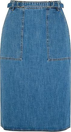 Mih Jeans M.i.h Jeans Woman Juno Belted Denim Skirt Mid Denim Size XS