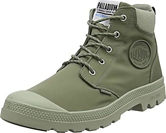 buy online 42aba ad701 Palladium Pampa Lite + Cuff WP, Bottes   Bottines Souples Mixte Adulte,  Vert (
