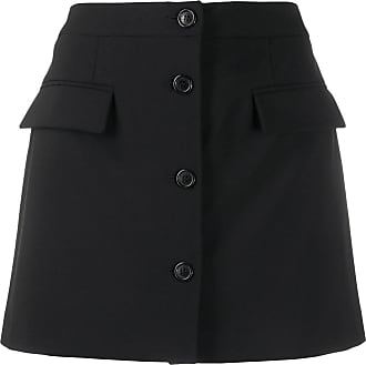 Opening Ceremony button front skirt - Black