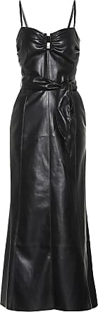 Nanushka Anja strapless faux leather dress