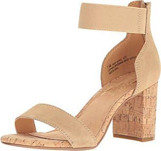 Aerosoles Womens High Hopes Dress Sandal, Light Tan Combo, 12 M US