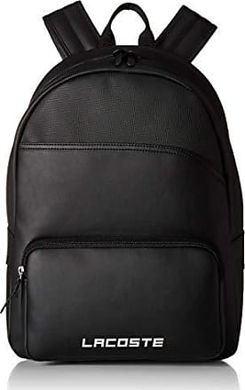 Lacoste Mens ULTIMUM Backpack, Black, ONE