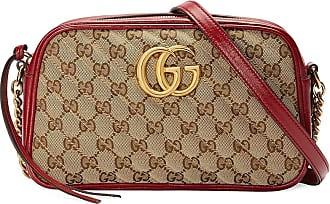 Gucci Bolsa transversal GG Marmont pequena - Neutro