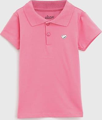 Elian Camisa Polo Elian Infantil Lisa Rosa