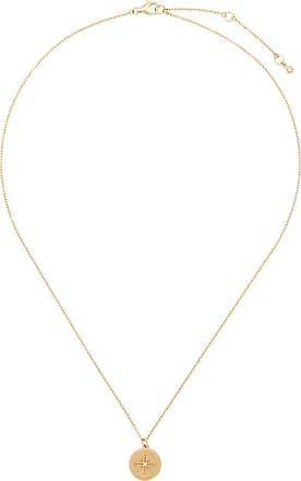 Astley Clarke Colar com pingente de estrela - Dourado
