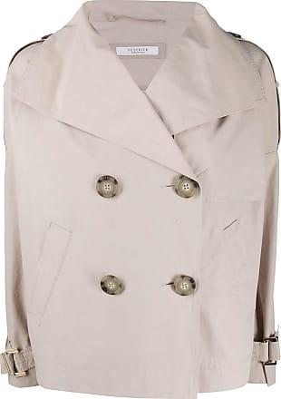 PESERICO Trench coat oversized - Neutro