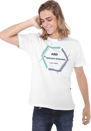 Hawaiian Dreams Camiseta HD Cluster Branca