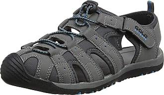 Gola Large Sizes Mens Shingle 3 Hiking Sandals 13 UK, 14 UK, 15 UK (14 UK, Grey/Black/Blue)