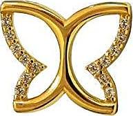 Prado Joias Pingente Em Ouro 18k Borboleta Com Zircônias