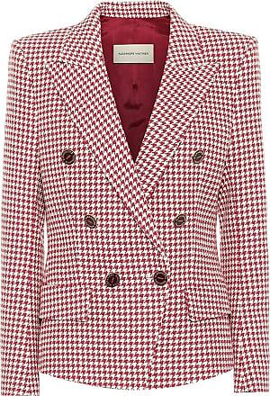 Alexandre Vauthier Houndstooth cotton-blend blazer