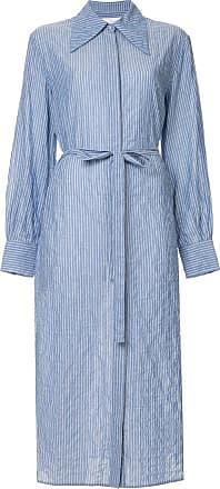 Karen Walker oversized collar dress - Blue