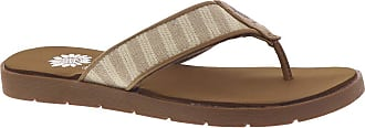Yellow Box Womens Fable Flip-Flop, Natural, 5.5 UK