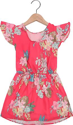 Quimby Vestido Quimby Menina Rosa