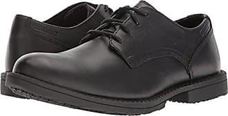 Wolverine Mens Bedford Soft-Toe Oxford SR Food Service Shoe, Black, 10 Extra Wide US