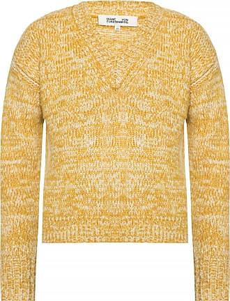 Diane Von Fürstenberg Knitted Sweater Womens Yellow
