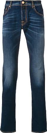 Jacob Cohen stonewashed slim fit jeans - Blue