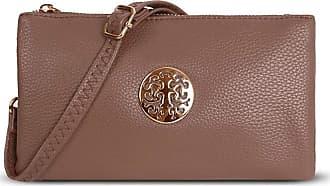 Craze London Womens Small Clutch Bag Cross Body Shoulder Bag with Wristlet Long Cross Shoulder Adjustable Strap