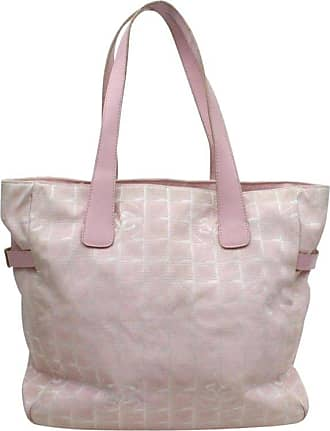 7f923e341b02 Chanel New Line Travel Gm 868959 Pink Canvas Tote