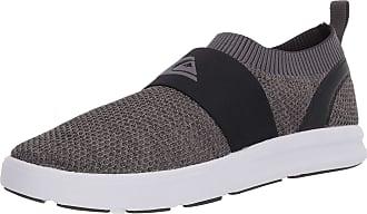 Quiksilver Mens Amphibian Plus Slip-ON II Water Shoe, Grey/Grey/White, 11 UK