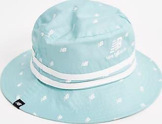 New Balance Drizzle - Cappello da pescatore con logo stampato-Blu