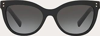 Valentino Valentino Occhiali Occhiale Da Sole Cat-eye In Acetato Con Stud Donna Nero OneSize