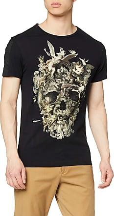 Religion Mens CHERRUBS Skull TEE T-Shirt, Black (Black 001), X-Large (Size:XL)