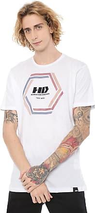 Hawaiian Dreams Camiseta HD Long Est Vortex Branca