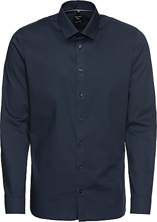 Olymp Chemise business No. 6 Uni Pop marine