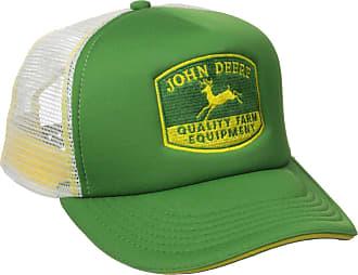 John Deere Mens Quality Equipment Foam Trucker Baseball Cap - Green