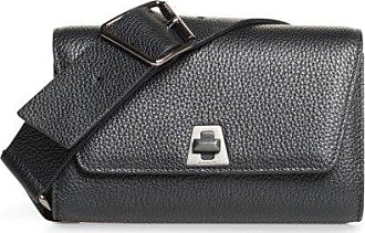 MQaccessories Small Belt Bag in Cervo Leather with Detachable Belt